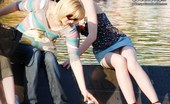 Upskirt Collection Cute upskirt girls in amusement park