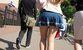Upskirt Collection Sex butt peek on the voyeured shots