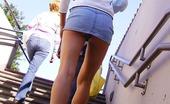 Upskirt Collection Upskirt spy cam shoots girl in park