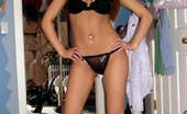 Upskirt Collection Chick with big nips spied on cam in red panties