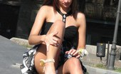 Upskirt Collection Hot lesbians party & reveal no panty upskirt