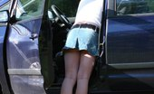 Upskirt Collection Car upskirt. Stooping chick flashed her great upskirt view