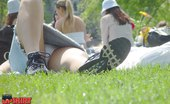 Upskirt Collection Women's upskirt at the park. Hot up skirt pictures