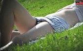 Upskirt Collection Black panties, white lace, best upskirt pics