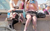 Upskirt Collection 348012 The hot upskirt collection of nice butted girls