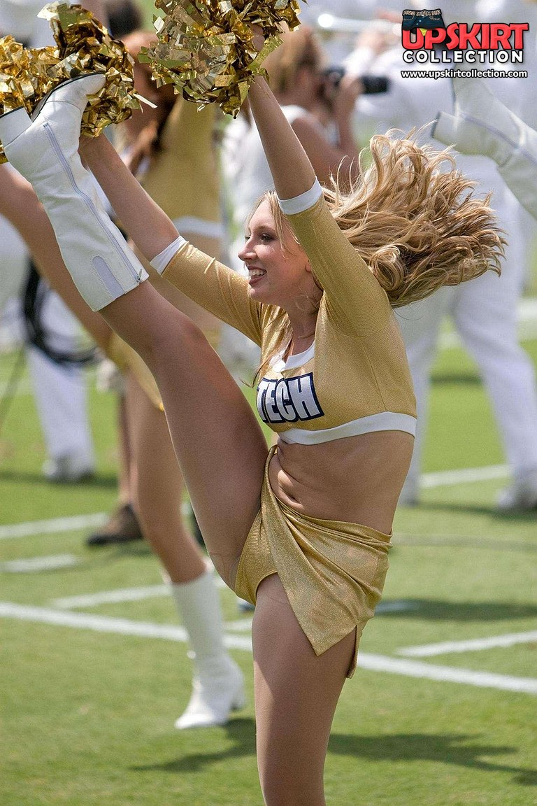Cheerleader photos candid upskirt