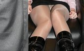 Upskirt Collection Girls lifting up skirts get spied on camera