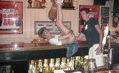 Real Tampa Swingers 175 Barmeet Member Gets A Blowjob In The Bar