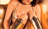 Asian Fever Nautica Thorn Gold Dildo, Asian Fever Nautica Thorn Gets Nasty With Her Favority Gold Dildo.