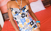 Asha Kumara Naughty Girl NN Indian Cutie Asha Kumara Poses In A Sweet Girlfriend Dress