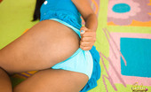 Asha Kumara Saphire Sweetie NN Asha Kumara In Baby Doll Socks And Panty Covered Buns