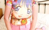 Megan Sweets 349960 Hot Blonde Babe Strips Her Cartoon Shirt