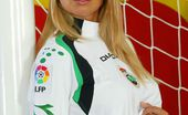 Hungarian Honeys Katerina Hovorkova Racing Santander Busty Blonde