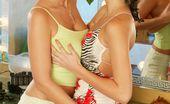 Hungarian Honeys Carol Goldnerova Lesbian Dressing Room