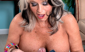 MILF Tugs Sally D'Angelo Short N Stacked Sallys First Time