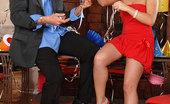 Only Blowjob Kathia Stunning Blonde Kathia Sucking A Big Hard Cock At NYE Party
