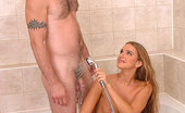 Only Blowjob Suzanne Young Blonde Babe Suzanne Doing A Hot Blowjob In Bathroom