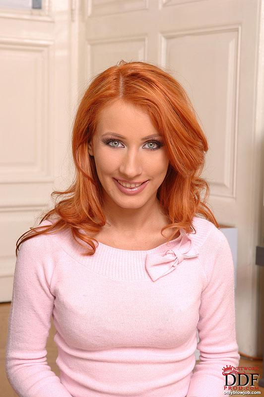 nataly redhead gangbang