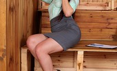 Only Blowjob Mira Sunset Mira Sunset Gives A Hot Blowjob Through A Sauna'S Glory Hole