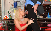 Only Blowjob Kathia Nobili Stunning Blonde Kathia Sucking A Big Hard Cock At NYE Party
