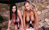 Scoreland 2 Linsey Dawn McKenzie & Ines Cudna Ldm And Ines Cudna: Tit-To-Tit And Clit-To-Clit!