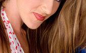 Glamour Models Gone Bad Kayla Paige Busty Brunette In High Heels Strips Naked