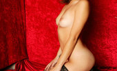 Glamour Models Gone Bad Chanel Chavez A Slim Brunette In Netted Stockings And Heels