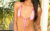 Glamour Models Gone Bad Kapri Styles 364587 Ebony Babe Shows Her Big Booty On The Balcony