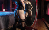 Glamour Models Gone Bad Ariel X Hot Brunette In Corset And Stockings