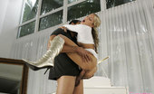 Glamour Models Gone Bad Britney Pierce Horny Blonde Seduces Her Piano Teacher