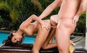 Glamour Models Gone Bad Nyomi Marcela Brunette Babe Nyomi Marcela Getting Rammed