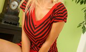 Glamour Models Gone Bad Chiquita Chiquita Takes Off That Tight Red Dress And Plays