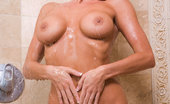 Glamour Models Gone Bad Tessa West Tessa West In The Shower Spreading Her Pussy