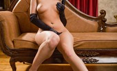 Glamour Models Gone Bad Ava Rose Ava Rose In Black Satin Dress!