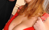 Heavy Handfuls Terry Gigantic Breasted Babe Terry Lets Her Tits Free As She Is Fucked
