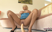 Stretched Out Snatch Bridgette B 370820 Bridgette B Pounds And Crams Hot Pussy With Extra Large Dildo