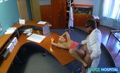 Fake Hospital Perfect Sexy Blonde Gets Probed And Squirts On Doctors Receptionist Desk