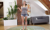 Busty Buffy Jumprope 372017 Topless Teen Busty Buffy Learns To Jump Rope