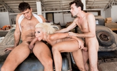 Hard X Anikka Albrite & James Deen & Ramon Nomar