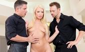 Hard X Mick Blue & Erik Everhard & Anikka Albrite