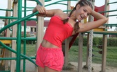 May Model 372452 Like A Small Girl Nonude May Adores Speding Time On The Playground With Her Schoolmates And Feel Herself Like Little Child That Just Have Fun.