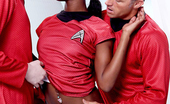 Hustler Parodies Ana Foxxx This Ain'T Star Trek XXX 3 Kyle And Scotty Shower Uhura With Compliments