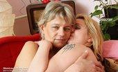 Mom Loves Mom Magda Rozalie Older Lesbians Pussy Dildo Cock Masturbation