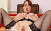 Mom Loves Mom Lora 373958 Aged Lora Spreading Pussy And Fingering Her Pussy