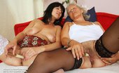 Mom Loves Mom Cecilie Flora Mature Bi Girlfriends Twat Licking And Sex Toy Sexual Intercourse