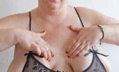OMG Big Boobs Debbie BBW Lingerie Show
