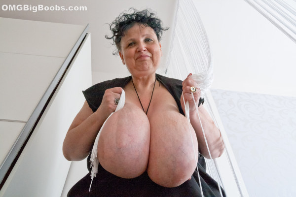 Giant saggy tits