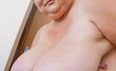 OMG Big Boobs Daphne Mature Saggy Breasts