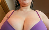 OMG Big Boobs Julia Big Tits Teasing Bra