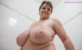 OMG Big Boobs Kristy Wet Slippery Big Tits